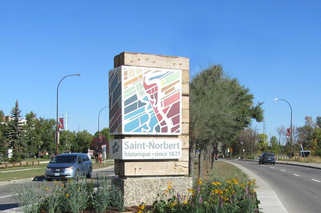 Welcome Signs - St Norbert BIZ