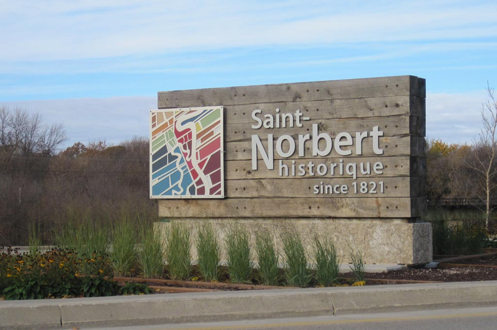 Welcome Signs - St Norbert BIZ