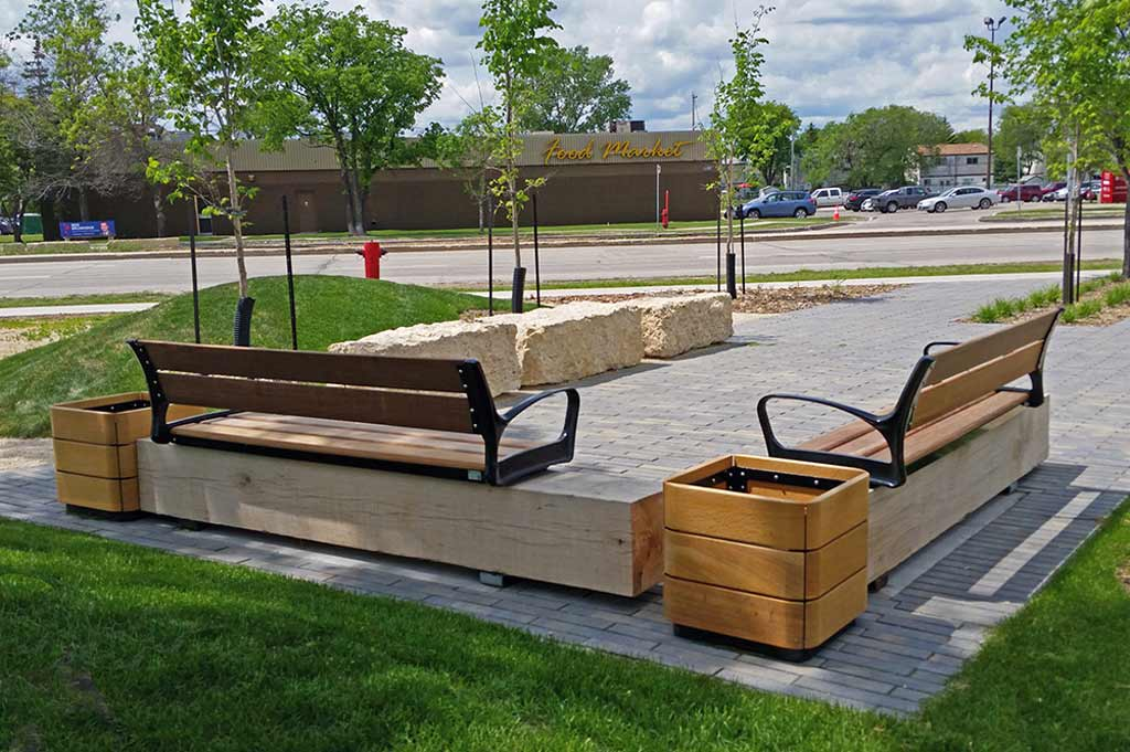 Seating Node - St Norbert BIZ